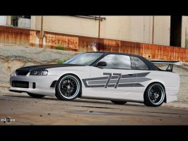 Nissan Skyline by pacee