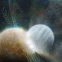 Planetary collisions by mark-san