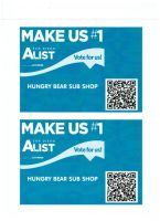 VOTE FOR HUNGRY BEAR SUB SHOP !!!  To WIN #1 SUB I by OgJimrock