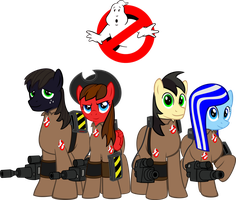 Pony Ghostbusters Group real logo by decompressor