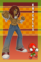 Human!Knuckles by OyOy