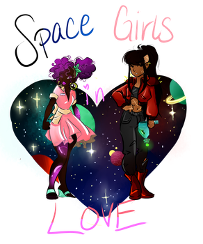 Space Girls are Still in Love by victoriaisaboy