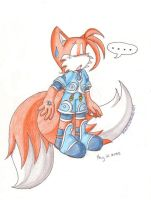 Tails as Genis by MilesTailsPrower-007