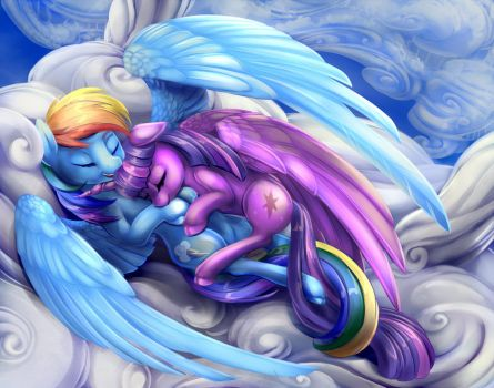 Twidash cuddle by viwrastupr