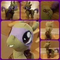 Donnie mlp plush by WolffangComics