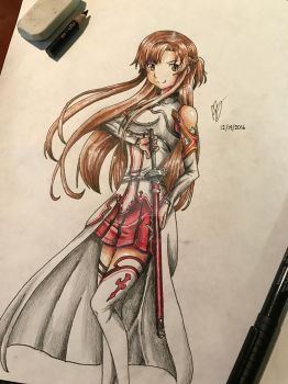 Asuna SAO by Austin-Barnitz