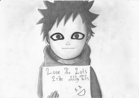 Gaara Loves You by negative-creeq