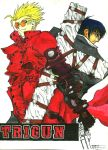 TRIGUN's Vash and Wolfwood by ArthurT2013
