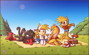 Picnic! by FOX-POP