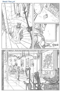 Thor page 2 by MinkyuJungArt