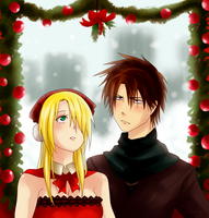 Mistletoe by Saku-shii