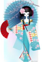Origami Doll by minercia