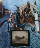 Carriage Horse by KittyNamedAlly