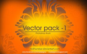 Vector Brush Pack -1 by midhunstar