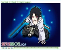 How to Draw Sasuke Part 3 by SketchHeroes