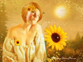 Sunflower by Alimera