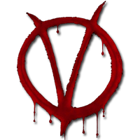 V For Vendetta Dock Icon by SilentBang