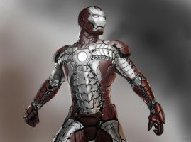 Iron Man MK V by MkFlrs