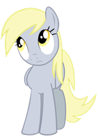 Derpy confused png by BaumkuchenPony