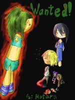 Wanted Cover by RenaTheBlackRose