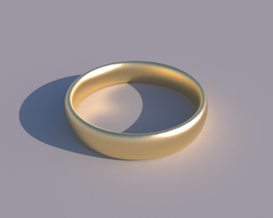 gold ring by JoaoYates