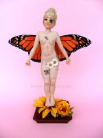 Monarch butterfly - fairy by Celestyal