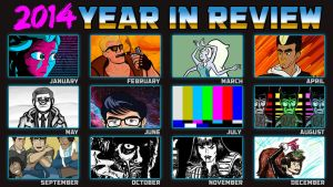 2014 Year In Review by Bleu-Ninja