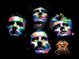 THE QUEEN IN WPAP by YUHEND
