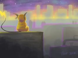 Waiting For You by Ami-Cat
