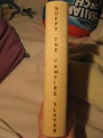 Buffy Woodburning Spine by artemis5096