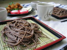 Summer Soba by sake-bento