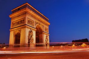 The Arc de Triomphe 1 by AlanSmithers