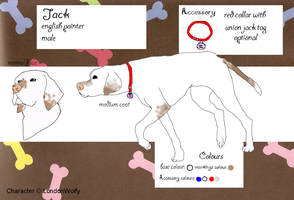 Jack reference sheet~ by missy-midnight