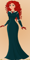 Merida Look a like -Day 12 by Daughterofthehunt10