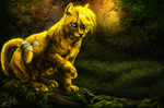 .:: JC the Forest Cat ::. by WhiteSpiritWolf