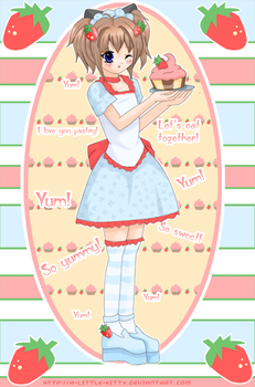 Pastry Time by A-Little-Kitty by CatNBunnyGirlsUnited