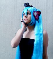 Preview of my cosplay of Hatsune Miku (Magnet) by NamiOkamura