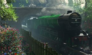 The Flying Scotsman by maxq3d