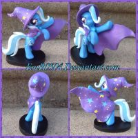 Art trade: The great and powerful Trixie!! by EmR0304