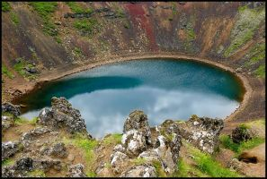 Crater lake by eswendel