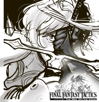 FF Tactics fan art thumbnail by DavyWagnarok