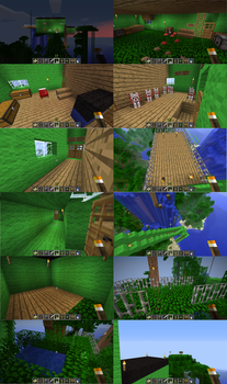 MineCraft TreeHouse 2.0 by Totaldramaman