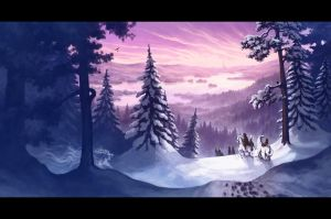"""The Winter Tree""-cd cover by MinnaSundberg"