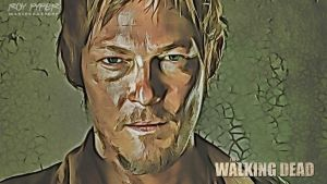 The Walking Dead: Daryl: Desktop Redux by nerdboy69