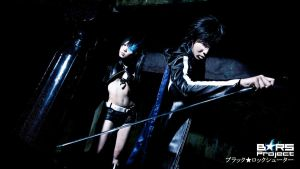 Black Rock Shooter : 01 by Ayatenshi