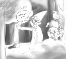 Over the Garden Wall Sketch by IceBreak23