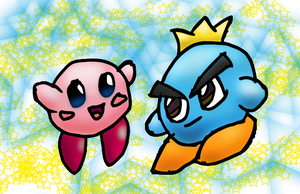 Kirby Prince Fluff by Quacksquared