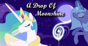Drop of Moonshine Cover by PenStrokePony