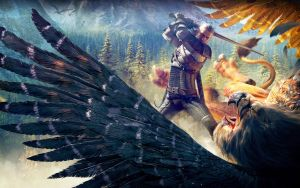 The Witcher 3 - Royal Griffin Slayer by KateWindhelm