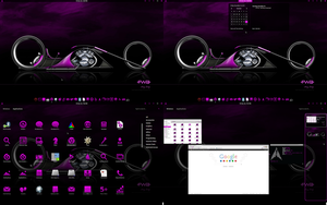 Purple Haze Gnome Shell by CraazyT